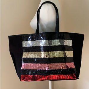 Handbags - NWOT Victoria's Secret Sequin Tote Bag